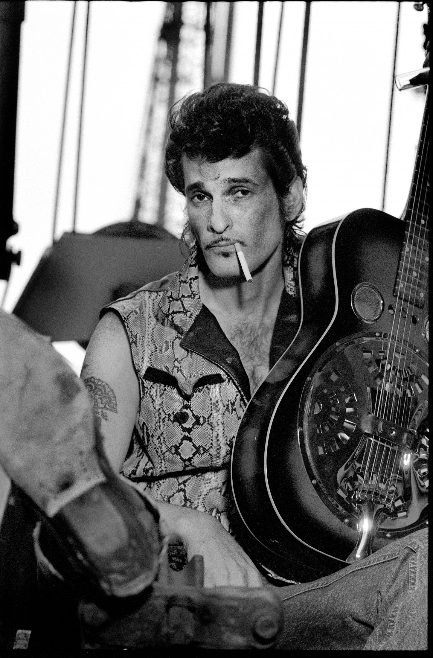 Willy DeVille Exhibition by Patricia Steur